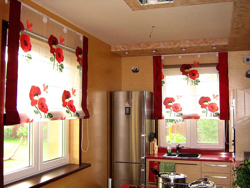 оформление окна на кухне фото своими руками мнению, снимки